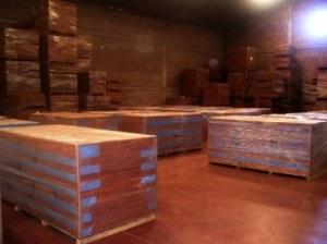 Venta de Maderas duras tropicales en tablones / listones de madera para producir pisos...