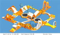 2014 biggest inflatable water park for lake, giant inflatable water park CE EN15649