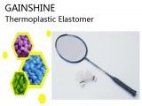 Antiskid Thermoplastic Elastomer for Badminton Racket