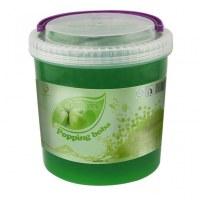 Hacer estallar las bolas, bolas boba boba de manzana verde para beber boba
