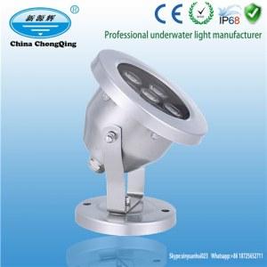 Hohe Lumen LED 12 Volt warme weiße Poolleuchten und Teichlichter