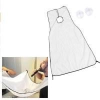 Men's bath beard shaved apron towel keep small beard cleaning apron beard storage cloth...