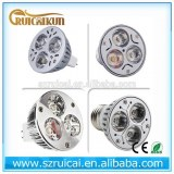 12V 220V 110V 3w 5w 7w e27 e14 b22 mr16 gu10 led spotlight