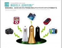 Dual USB 3.1A Auto Charger for Cellphone/MP3/PSP/GPS