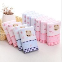 25  50cm high quality cotton towel for baby bear cartoon cloth napkin for baby childre...