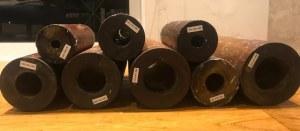 Cojinetes de madera listos para ser utilizados como cojinetes de tubo de popa (cojinete del eje...)