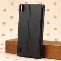 Huawei Ascend P7 Schutzhülle Backcover Handycase schwarz