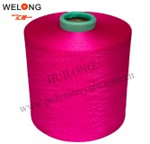 150/48f dope dyed polyester yarn
