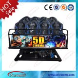 Entertainment Equipment Electric/Hydraulic Truck Mobile 5d Cinema
