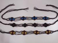 Stock Cinturones hippies hechos a mano