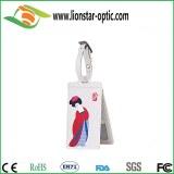 New fashion luggage tag ,PVC/real leather/PU luggage tag