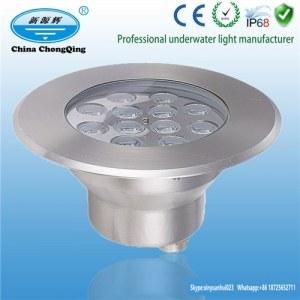LED-Außenbeleuchtung DC24V Edelstahl RGB LED Unterwasserbeleuchtung