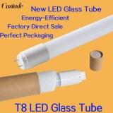 T8 LED tubo de tubos de vidrio 600mm 900mm 1200mm