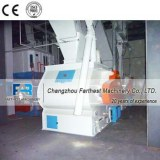 CE Certificated Double Shaft Cattle Feed Molasses Mixer Machine