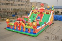 2014 New inflatable air slide professional manufacturer for whosale