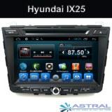 Fábrica Android 2 Din Auto Radio Navegación Hyundai IX25 del coche DVD GPS