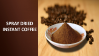Spray dried instant coffee origin Viet Nam