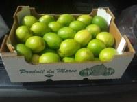 La venta de productos agrícolas procedentes de Marruecos