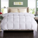 High Quality Cotton Fabric Simple Solid Goose Down Alternative Comforter/Duvet/Quilt
