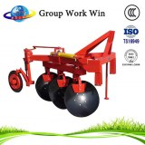 Agricultural machinery driven disc plough