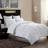 High Quality Winter Warm Cotton Fabric Simple Solid Goose Down Alternative Comforter/Du...
