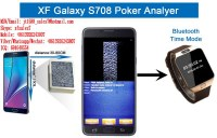 XF Reloj Blue-Tooth para Samsung Galaxy Note 7 Pk King 708 Poker Analyzer para ver el...