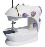 Mini sewing machine with lamp suit with household