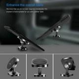 El mejor precio al por mayor soporte magnético del coche del tenedor del teléfono celular de 360...