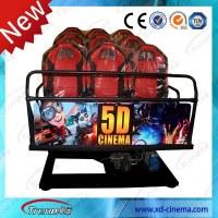 Hot Sale 6/9/12 Seats Interactive Gun Shooting 5D7D9D Cinema For Sale