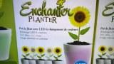 25 Pots de Pleur avec LED à changement de couleurs