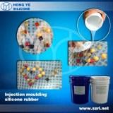 Caucho de silicona transparente