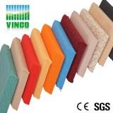 Paneles de pared acústica cubiertas de tela