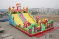 Cfunny inflatable side,hot inflatable kids slide,pop inflatable slide game