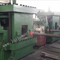 Tube end forging upsetter for Upset Forging of pipe thickening