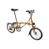 Brompton S6L 2020 Folding Bike Orange