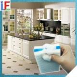 Casa con cocina melamina Borrador mágico esponja con jabón de limpieza