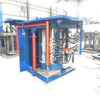 Frecuencia media de fusión del metal Fuente de la fábrica del horno