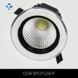 10w cut out 120mm led cob downlight