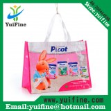 Non Woven Laminated Bag/Promotional Customized Logo Shopping handbag promotion