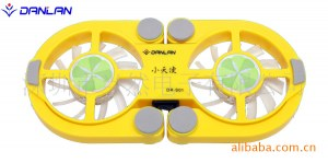 Mini Laptop/Notebook Cooling Pad with two fans(DR-S01
