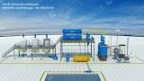 Waste Plastic Oil to Diesel Distillation Plant