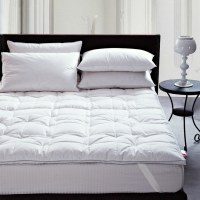 Wholesale Premium Quality A Luxury Hypoallergenic Mattress Topper Quilted Featherbed