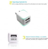 1A Mini USB Mobile Travel Charger for Samsung Galaxy S4