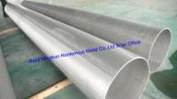 Grado 1, 2, 5, 6, 7, 9, 12, 23 de titanio y aleación de titanio tubos soldados, ASTM B862