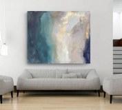 Decoración de la casa abstracta Arte de la pared Pinturas al óleo sobre lienzo