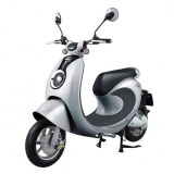 IU Smart M1 48v Yellow & White Electric Motorcycle Scooter Wholesale
