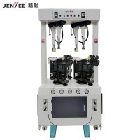 JY987 Airbag wall type sole attaching machine of casual shoe sole attaching pressing ma...