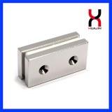 Manufacturer N30-N52 Permanent NdFeB Magnet Countersunk Magnetic