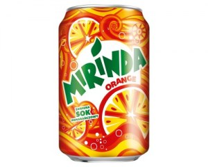 MIRINDA CAN 0,33L FOR SALE