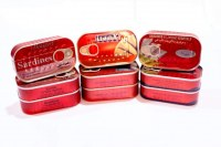 Sardines en conserves à l'huile végétale /boite de 125g